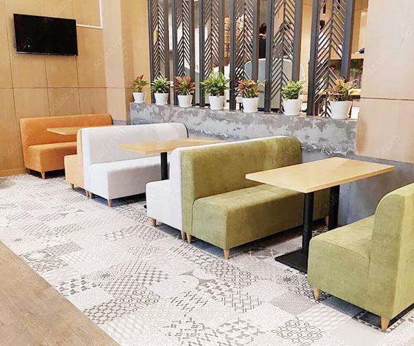 ghế sofa cafe đẹp bền bỉ