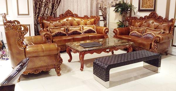 đóng bọc sofa cổ điển tại VX