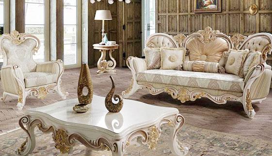 ghế sofa cổ điển tại công ty VX