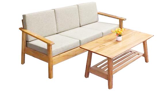 salong ghế gỗ