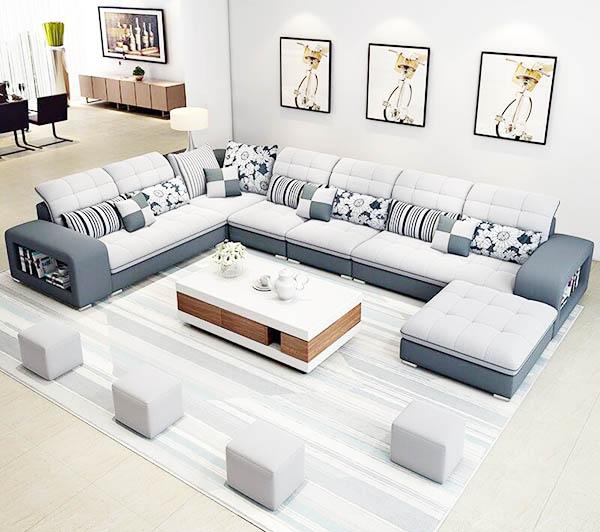 tìm hiểu về ghế sofa vải nỉ chữ U