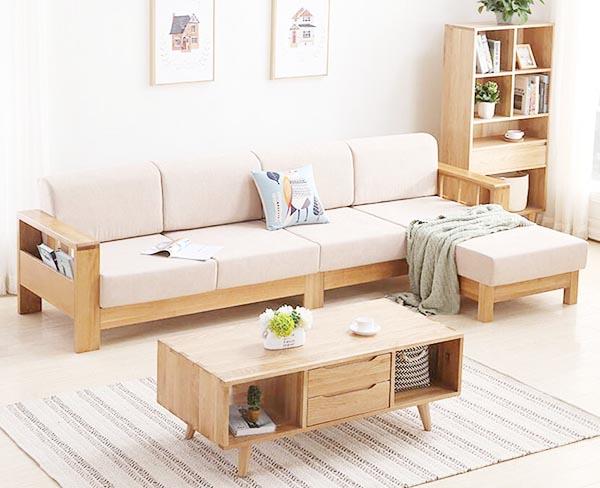 ưu điểm của sofa lót nệm