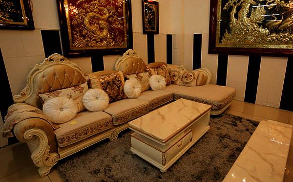 nơi đóng sofa tân cổ điển cao cấp chất lượng
