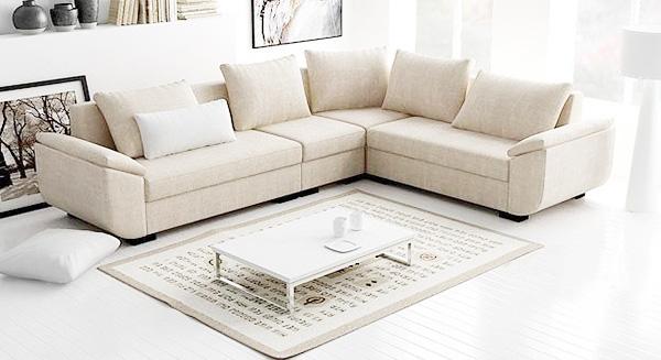 7 loại vải bọc ghế sofa phòng khách