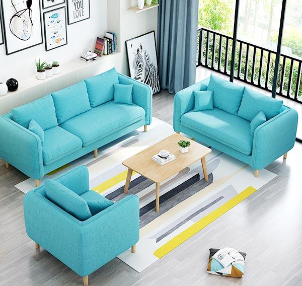 màu sắc ghế sofa phòng khách phù hợp màu sơn tường