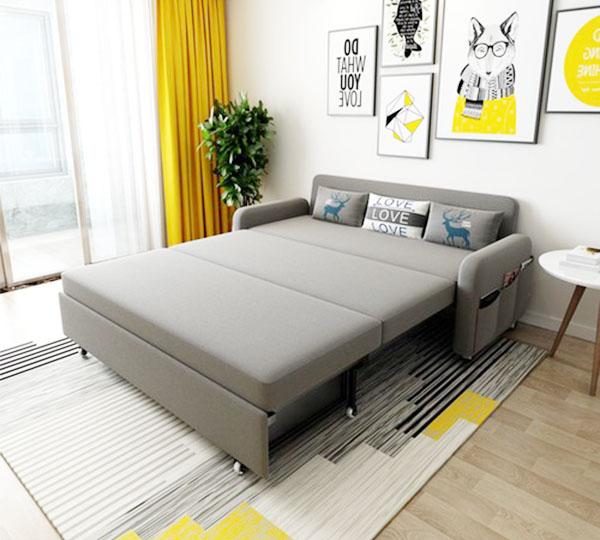 ghế sofa bed giường gấp gọn tiết kiệm nhiều không gian