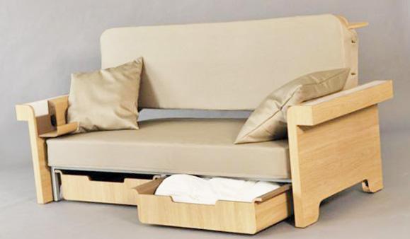 ghế sofa có ngăn đựng đồ
