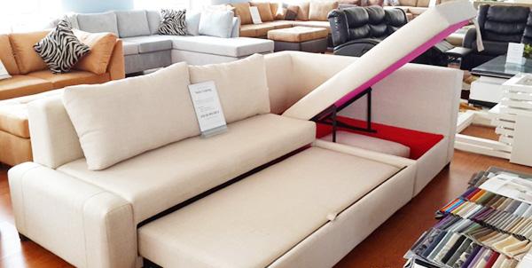 xưởng đóng sofa bed có ngăn chứa đồ