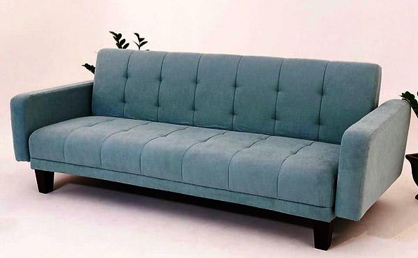 mua ghế sofa giường xanh ngọc làm căn phòng mát mẻ